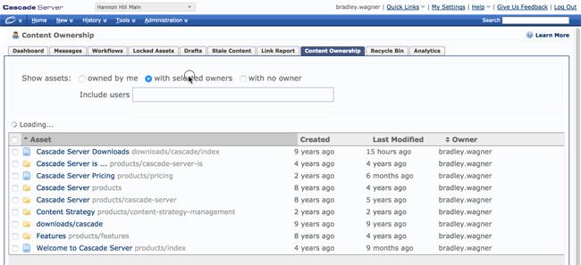 Cascade Server CMS