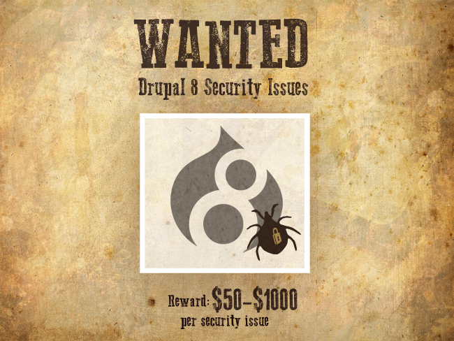 drupal8-security-wanted