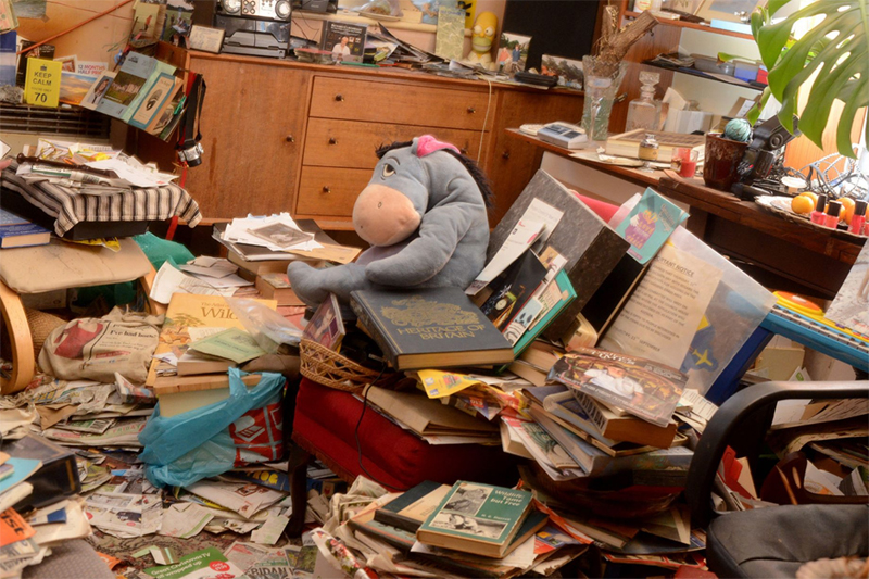 Inside the home of one of Britain's biggest hoarders