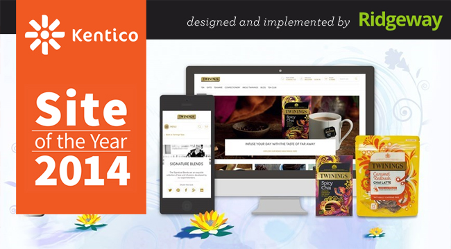 Kentico Site of the Year 2014 - Twinings