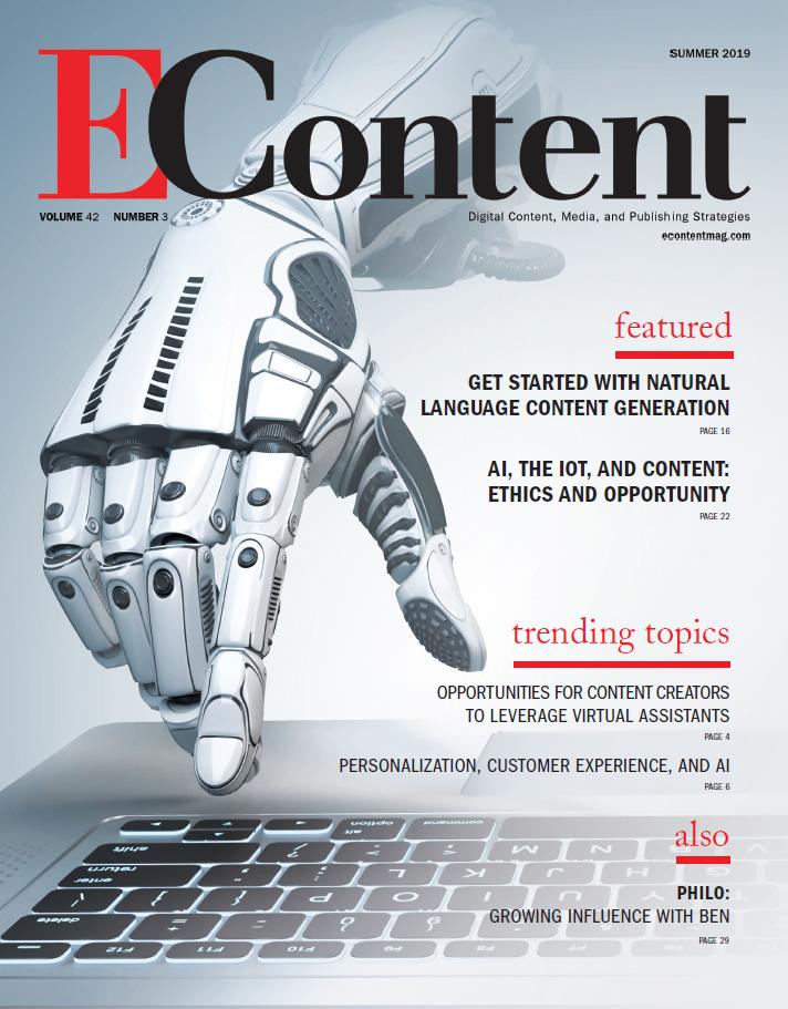 EContent Magazine - Summer 2019